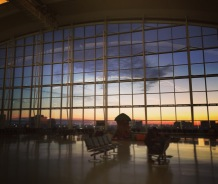 Toronto airpot - Sunrise